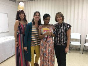 Iesha at her shower (1)